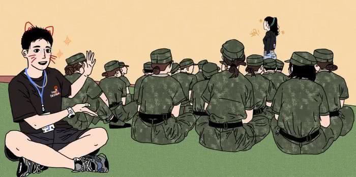 新生助理是新生军训的守护者2